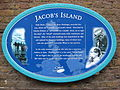 Jacob's Island blue plaque.jpg