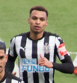 Jacob Murphy a Newcastle United színeiben 2017-ben