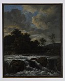 Jacob van Ruisdael - Landscape with Waterfall - 44-1974 - Saint Louis Art Museum.jpg