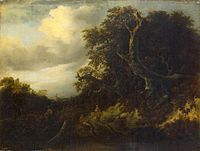 Jacob van Ruisdael - Road at the Edge of the Forest.jpg