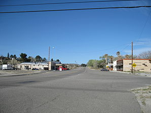 Old Highway 80 in Jacumba