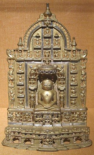 Suparshvanatha - Image: Jain shrine with Suparsvanathal, western India, 16th century, bronze, HAA