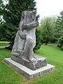 Jakob Probst (1880–1966), Hodler-Krieger oder Marignano-Krieger, 1944-45, Soldatendenkmal. 1955 eingeweiht durch General Guisan, Stadtpark Olten (3).jpg
