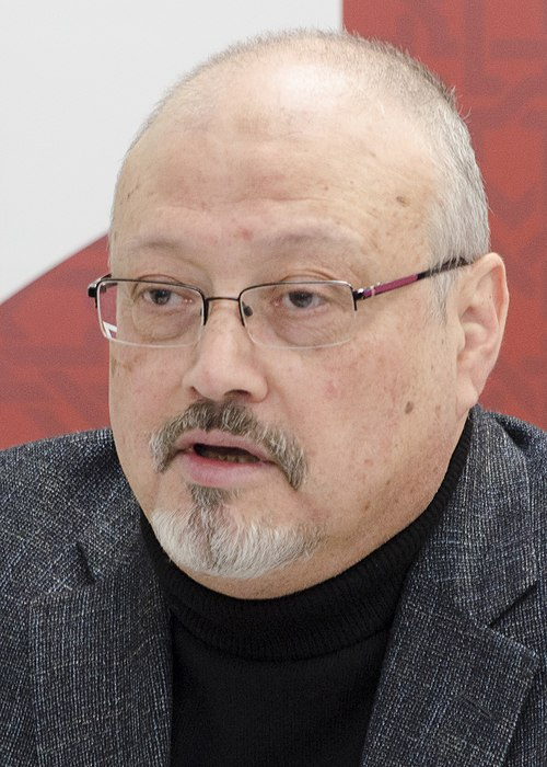 Fil:Jamal Khashoggi in March 2018 (cropped).jpg