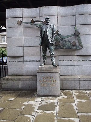Éamonn O'Doherty (sculptor) - Image: James Connolly Dublin statue