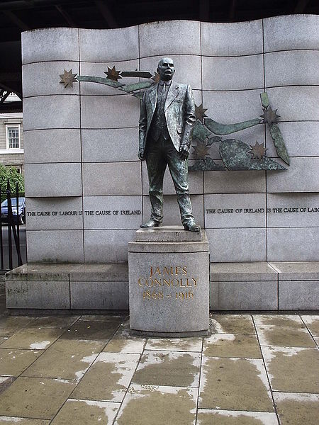 Íomhá:James Connolly - Dublin statue.JPG