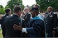 James Gordon, front right, a faculty member at the Army War College, congratulates a graduate during the school's class of 2013 graduation ceremony at Carlisle Barracks in Carlisle, Penn., June 8, 2013 130608-A-AO884-250.jpg