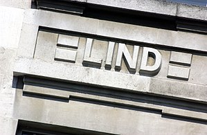 James Lind - James Lind's name on the Frieze of LSHTM