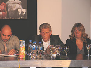 Jan Fabre - Jan Fabre (center) in 2008