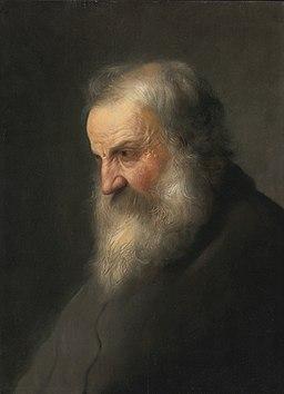 Jan Lievens (attrib.) - Head of an old men (1630s)