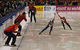 Speed skating - Long track speed skating in Thialf in 2008