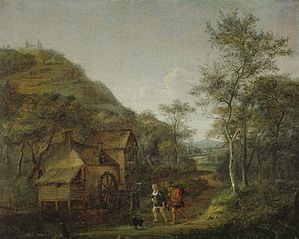 Wooded Landscape with a Watermill