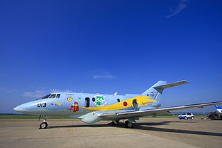 Japan air self defense force Raytheon U-125A RJST.jpg