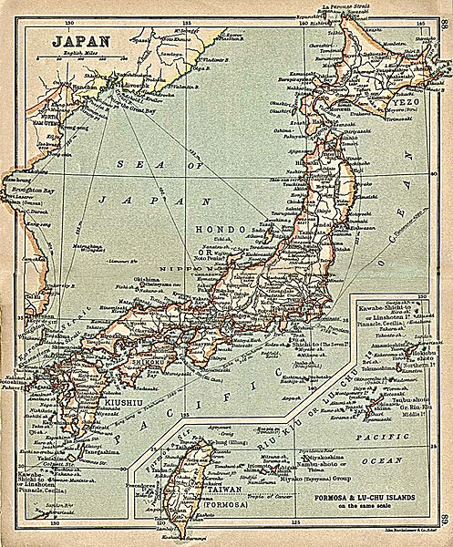 Tập tin:Japan with inset map Formosa and Riu-Kiu Islands from A Literary and Historical Atlas of Asia, by J.G. Bartholomew. J.M. Dent and Sons, Ltd. 1912.jpg