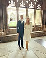 Jared Kushner and Ivanka Trump in Westminster Abbey.jpg