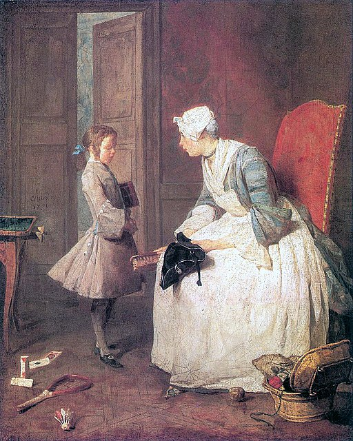 Jean-Baptiste Simeon Chardin The Governess