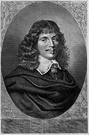 Jean François Sarrazin - Engraving by Charles Devrits