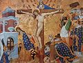 Jean Malouel - Calvary and the Martyrdom of St Denis - WGA13899.jpg