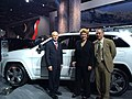 Jeep execs show off the Grand Cherokee SRS at the Auto Show, Detroit (11982257205).jpg