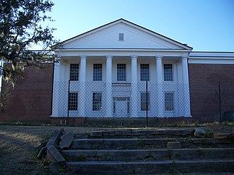 Monticello High School (Florida) - Image: Jefferson Cty High School Monticello 02