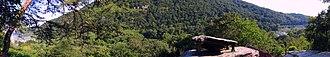 Jefferson Rock - Image: Jefferson Rock Panorama
