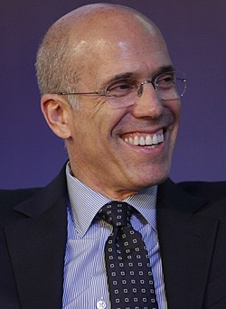 Jeffrey Katzenberg, World Travel & Tourism Council, Global Summit 2014-1 (cropped).jpg