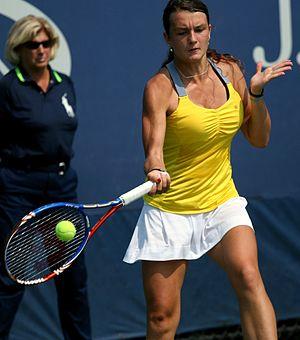 Jesika Malečková - Malečková at the 2011 US Open