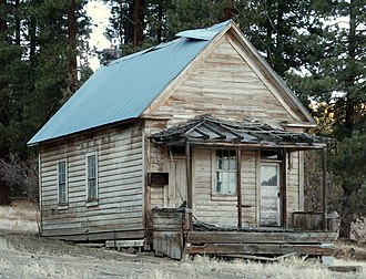 National Register of Historic Places listings in Modoc County, California - Image: Jess Valley Schoolhouse Likely California