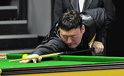 Jimmy White at Snooker German Masters (DerHexer) 2013-01-30 02.jpg