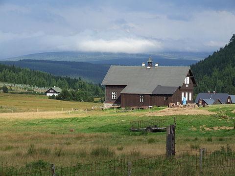 Jizerka (Klein Iser), village in the Jizera Mountains
