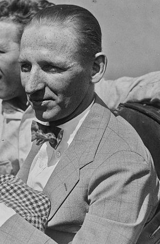 Joe Boyer - Boyer at the 1921 French Grand Prix