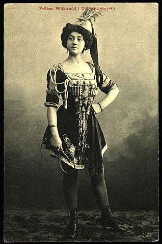 Naima Wifstrand - As Daisy in The Dollar Princess, 1909