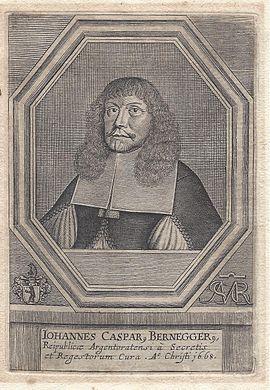 Johann Caspar Bernegger
