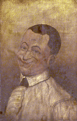 John Collier (caricaturist) - Self portrait