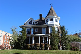 National Register of Historic Places listings in Gilmer County, West Virginia - Image: John E. Arbuckle House