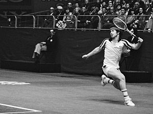 John McEnroe - John McEnroe at the 1979 ABN Tennis Tournament