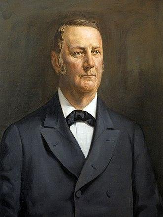 Ex parte Merryman - John Merryman. Oil on canvas attributed to Meredith Janvier, c. 1910-1920