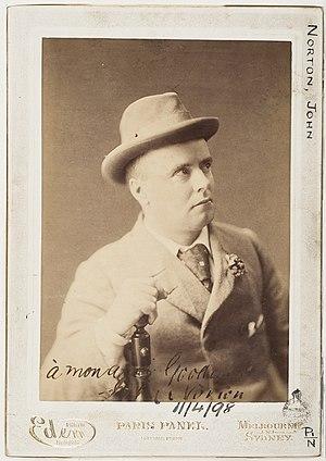 John Norton (journalist) - Image: John Norton, newspaper owner