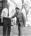 John Peabody Harrington (1884-1961) and Chief Wiishi of Mission Indians, California.jpg