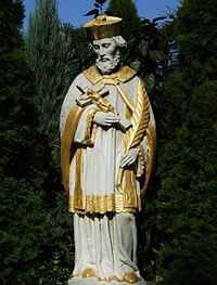 John of Nepomuk - statue in Kupp.jpg