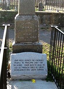 John Ross Cherokee Chief Wikipedia