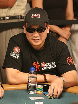 Johnny Chan - Johnny Chan at the 2008 World Series of Poker