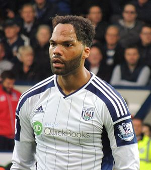 Joleon Lescott - Lescott playing for West Bromwich Albion in 2014