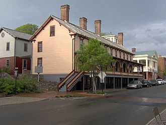 Jonesborough, Tennessee - The Chester Inn, built in 1797, still stands in downtown Jonesborough