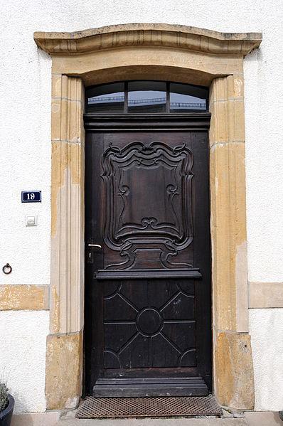 D'Hausdier op Nr 19, rue du Village zu Jonglënster.