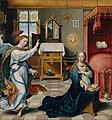 Joos van Cleve - Annunciation (Metropolitan Museum of Art).jpg
