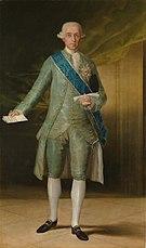 Portrait du Comte de Floridablanca