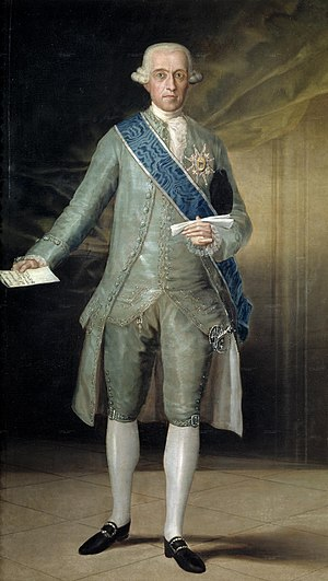 José Moñino, 1st Count of Floridablanca - Count of Floridablanca, painted by Goya