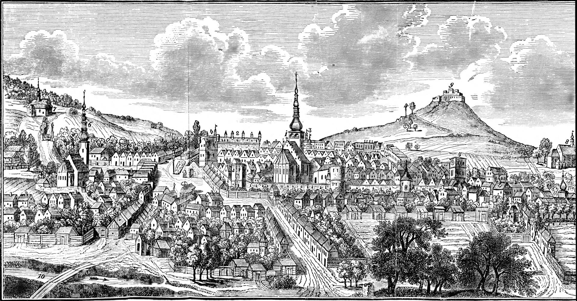Josef Beck - Geschichte der Stadt Neutitschein (Nowý Jičín) und deren Umgebung - 1854 - Image on 240a page.png