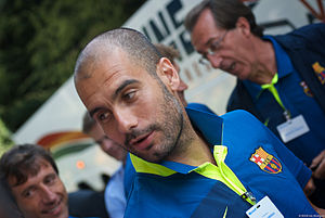 Pep Guardiola - Pep Guardiola in 2010.